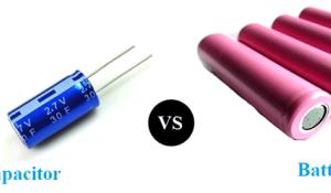 Supercapacitor VS Battery