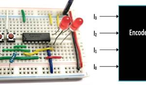 Binary Encoder Circuit